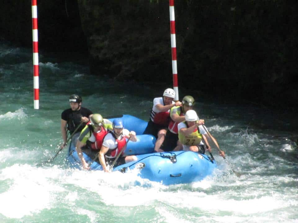 Dajak slalom