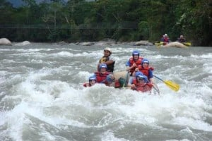 Ecuador's Upano River: Considered by National Geographic as the World's 4th best whitewater