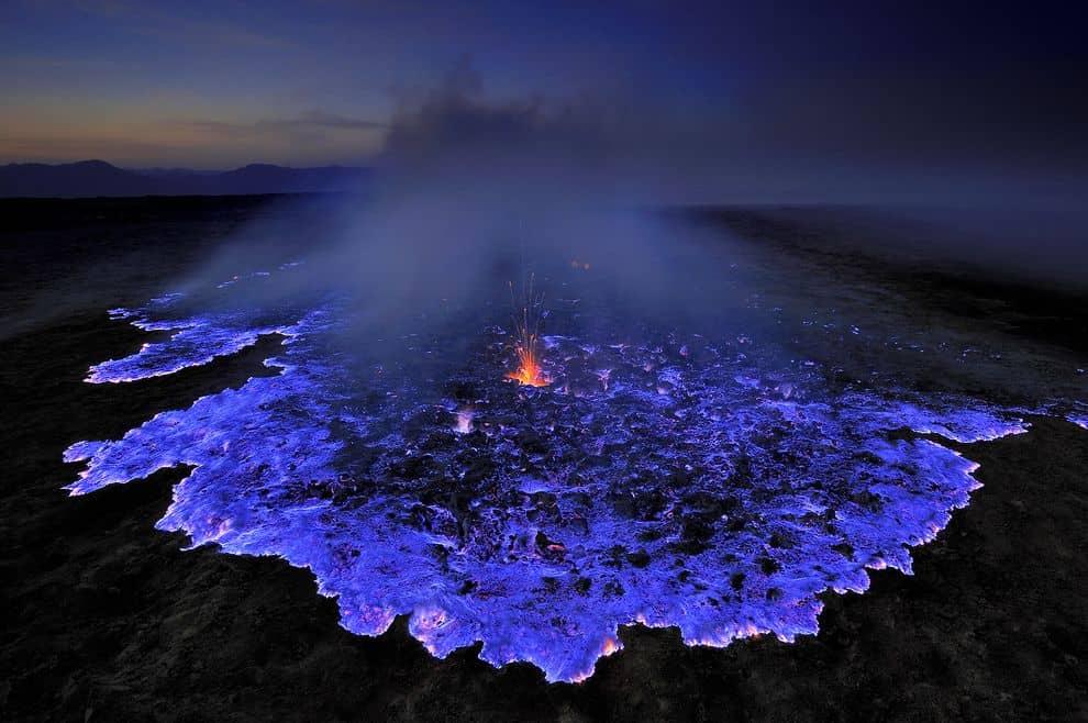 Indo volcano