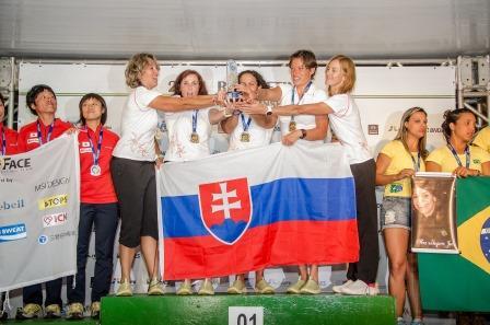 Mistral podium WRC