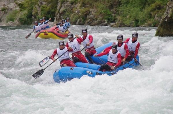 Japan rafting