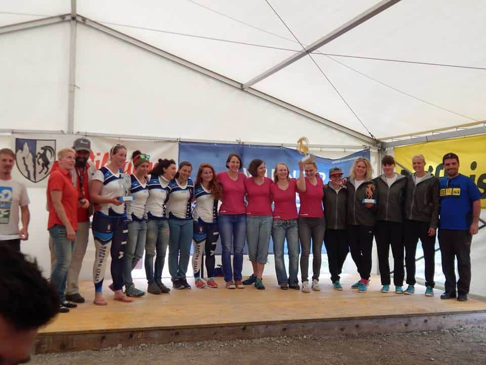 EC Women medalists