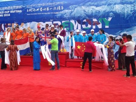 China medal women