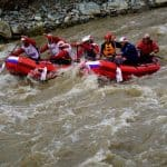China welcomes raft racers