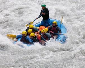 Mark Hirst rafting