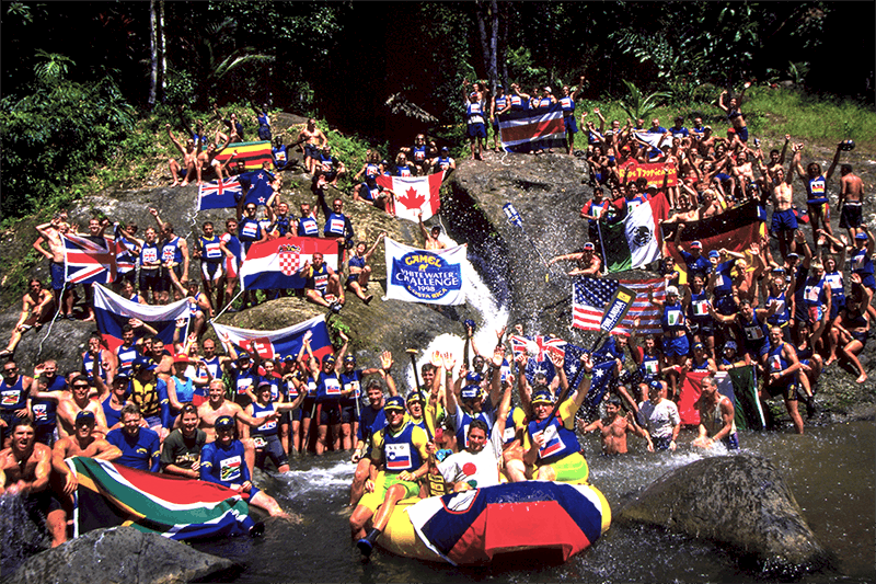 First official World Rafting Championships