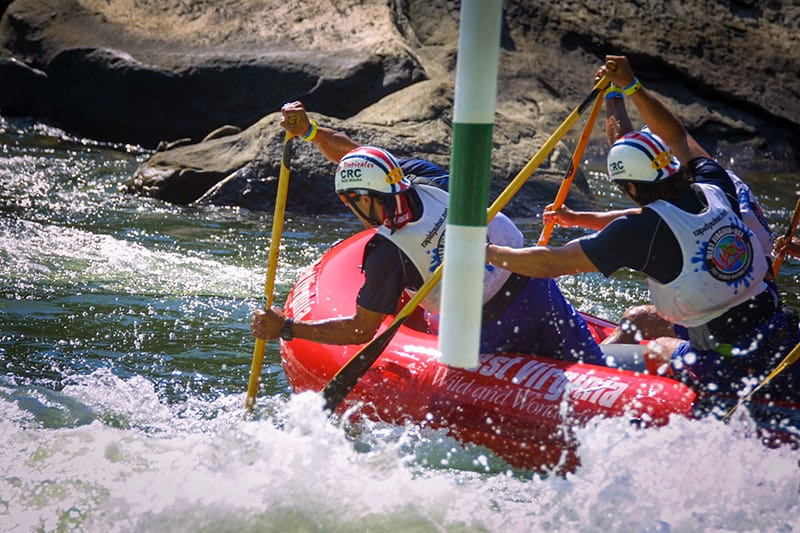 First stand alone  IRF World Rafting Championships