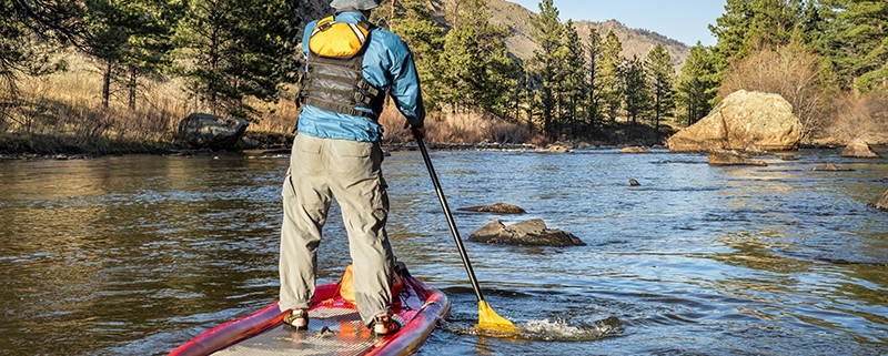 Top 3 Non-Rafting Activities - SUP