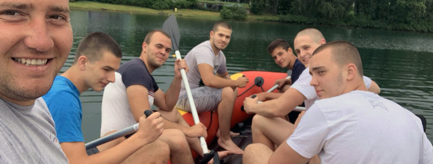Lessons in rafting