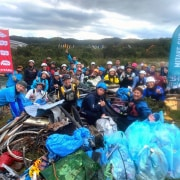 River Rubbish clean up crew