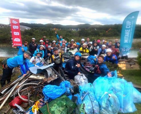 River Rubbish clean up crew