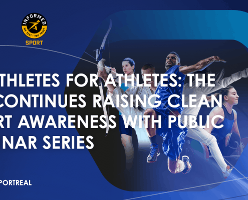 Raising clean sport awareness