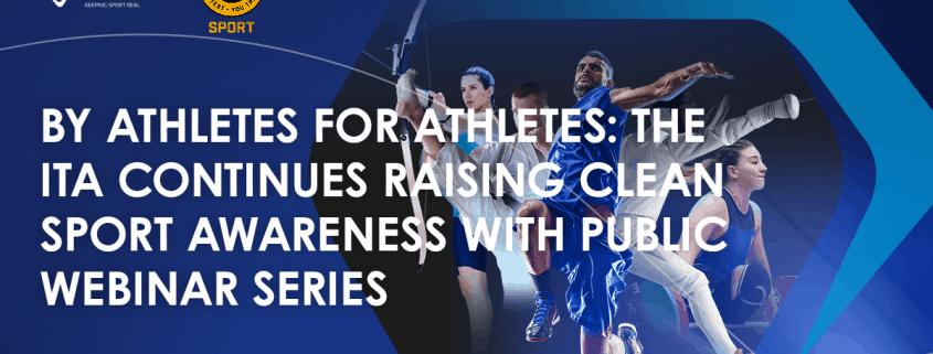 Raising clean sport awareness