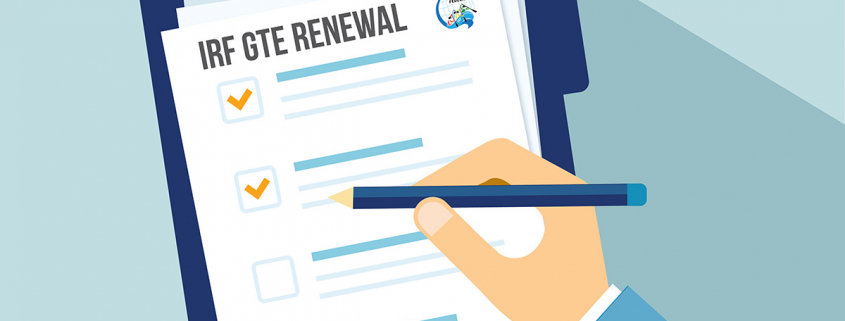 Renew your GTE certification