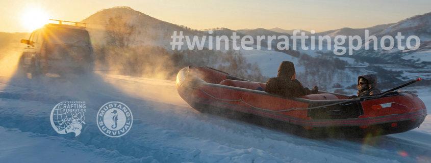 Winter Rafting Photo