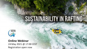 Sustainability in Rafting webinar available to book now