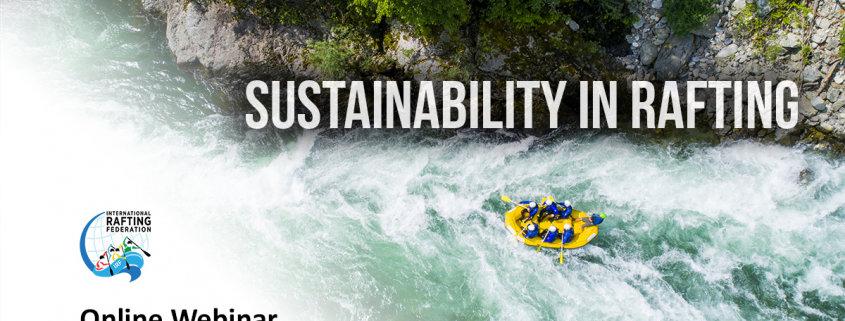 Sustainability in Rafting webinar